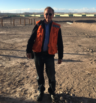 Keith in Atacama Desert, Chile